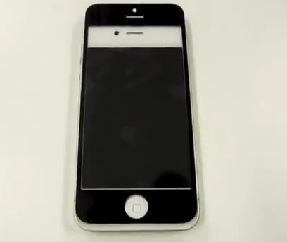 pannello frontale del iphone 5