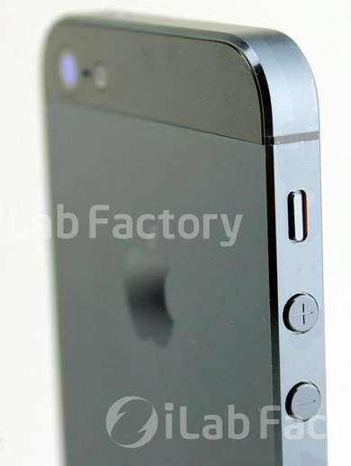 parte laterale dell'iphone 5