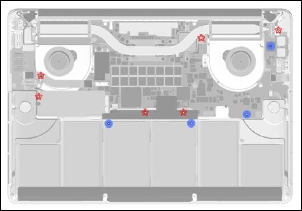 macbook pro 10 sensori