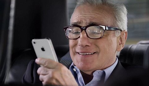 spot martin scorsese iphone 4s siri