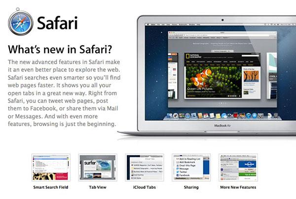safari 6 apple