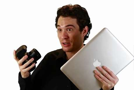 parodia adam sacks iphone
