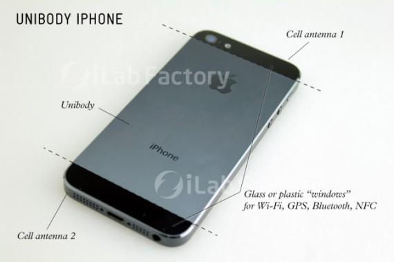 parte posteriore iphone 5