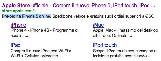 preordini iphone 5