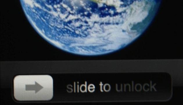 slide to unlock apple