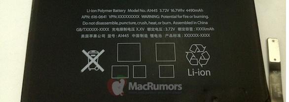 batteria autonomia ipad mini