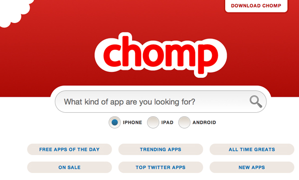 chomp servizi apple