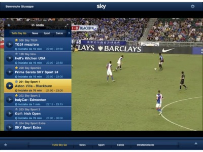 Sky Go iPhone 5