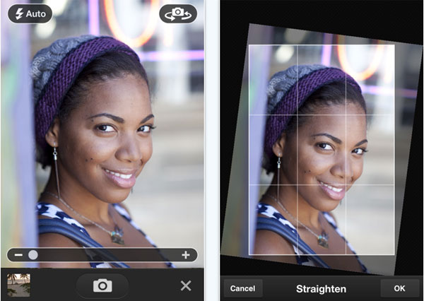 Photoshop Express iPhone 5