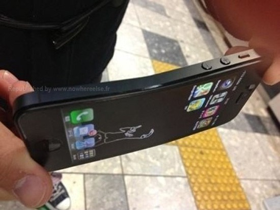 iPhone 5 piegato