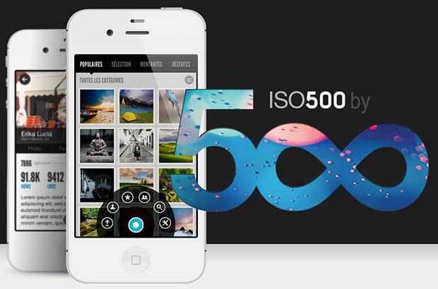 500px ios