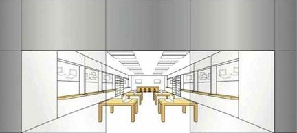 Apple Store brevetto
