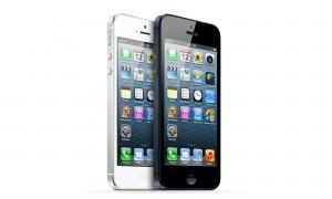 iPhone 5 bianco e nero