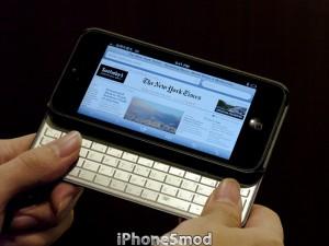 iPhone 5 mod tastiere
