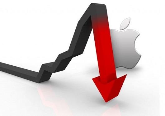 Azioni Apple calo