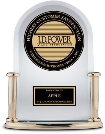 J.D.-Power-awards premio Apple
