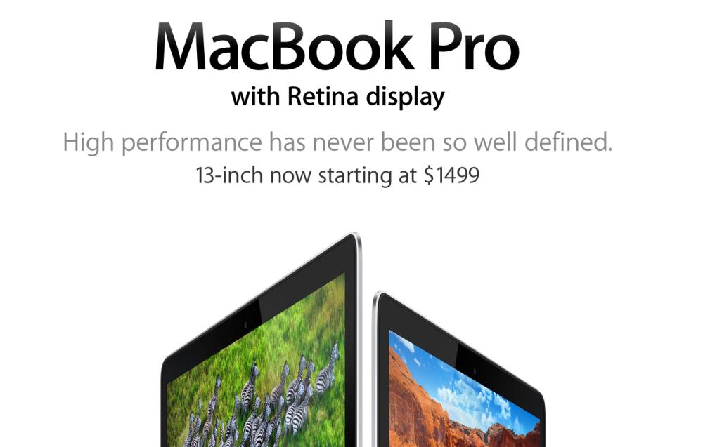 MacBook Pro Slogan