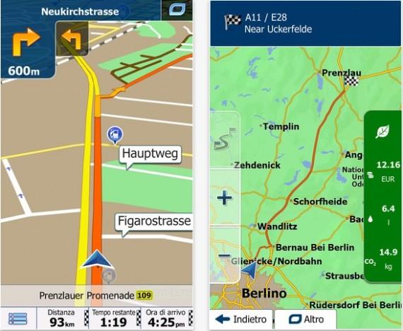 iGO applicazioni mappe