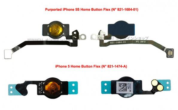 iphone 5s componenti interni