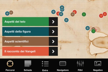 sindone-2.0 App iOS