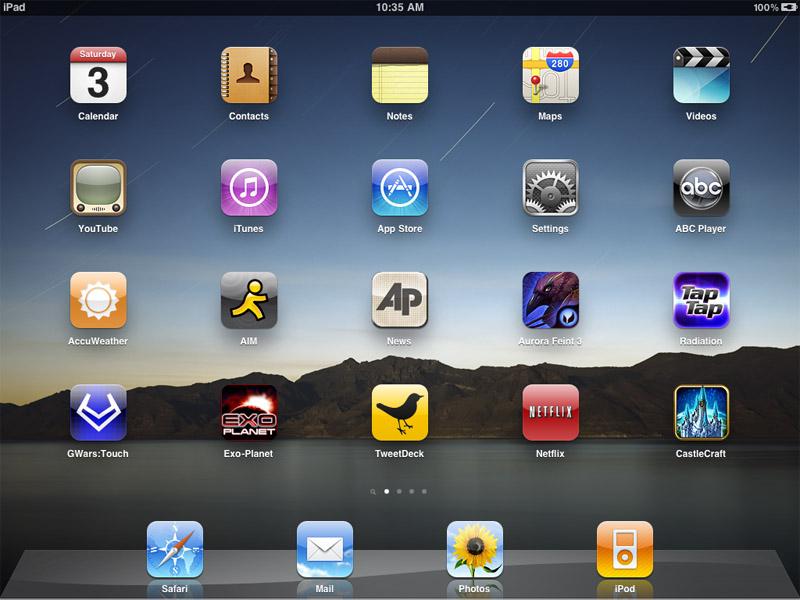 app iPad