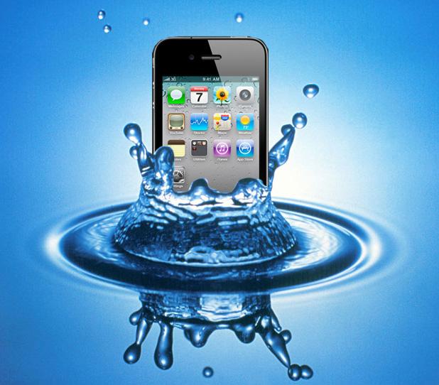iPhone Water LCI