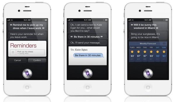 Siri iPhone aggiornamento