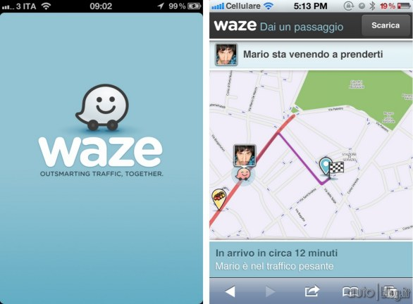 Waze Apple Facebook