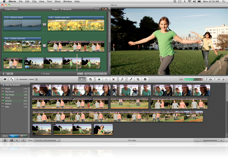 iMovie Apple
