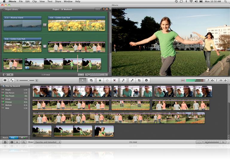 iMovie Apple