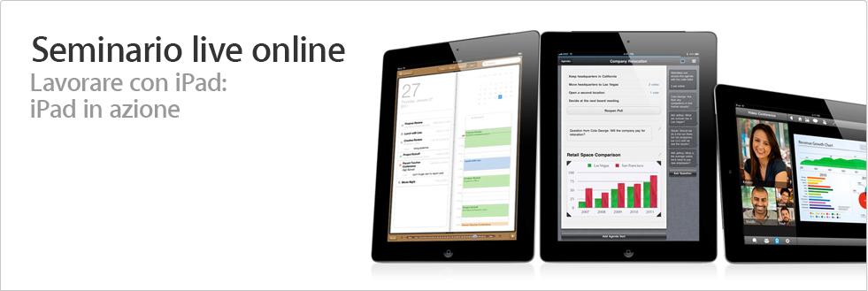 iPad online seminar