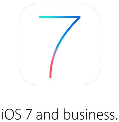 iOS 7 business page