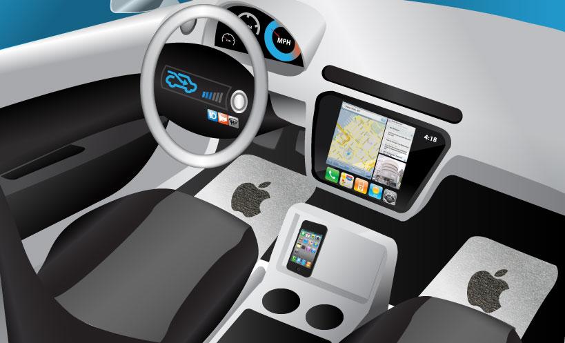 iOS auto Apple