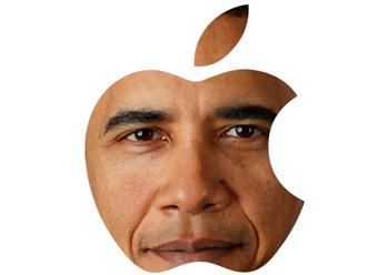 obama apple