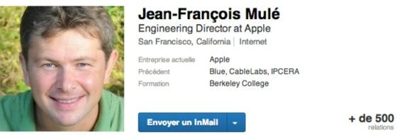 Jean Francois Mule apple