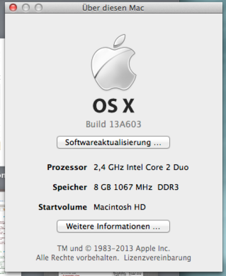 mavericks os golden master
