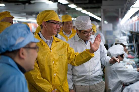 apple produzione