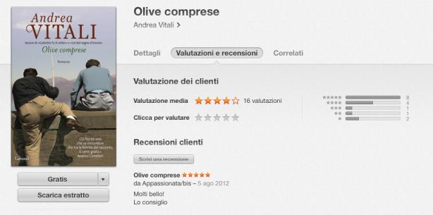 olive comprese 12 giorni di regali