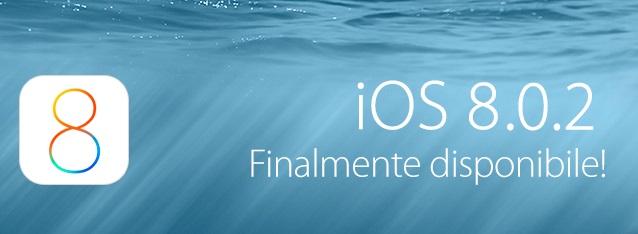 aggiornamento di iOS 8