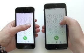 uso iphone 6 con una mano