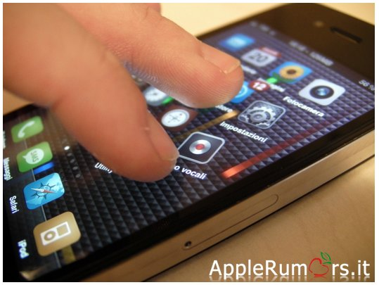 gesture multitouch iPhone 5