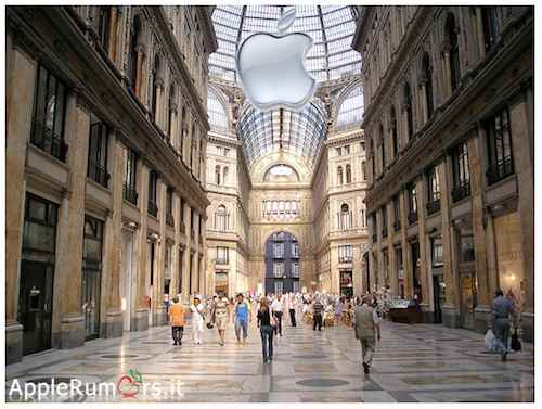apple store di napoli