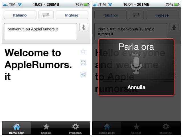 google translate iphone