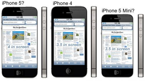 iphone 5 e iphone nano 5