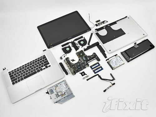 macbook pro 15 pollici teardown