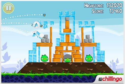 Angry Birds per iphone