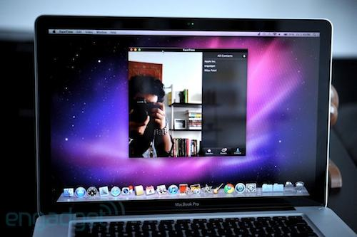 Facetime HD su Macbook Pro 2011