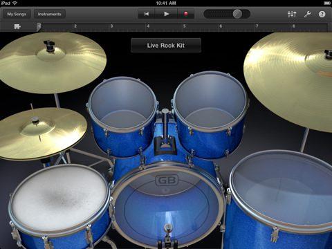 GarageBand disponibile in App Store per iPad e iPad 2
