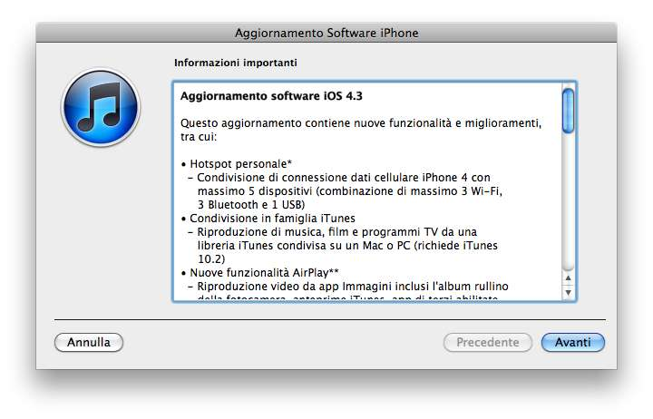 download iOS 4.3