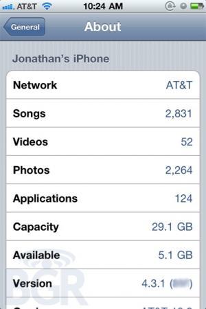 iOS 4.3.1 migliorerà la durata della batteria